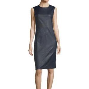 Leather Theory Dress